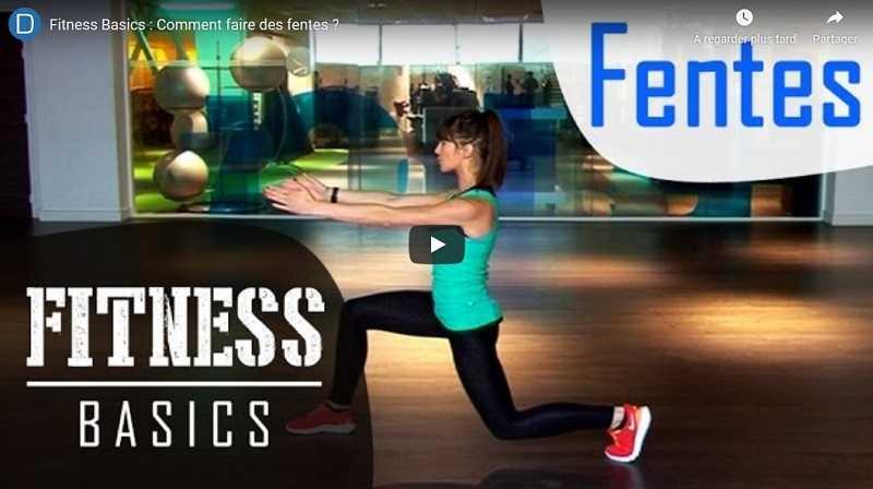 fitness fentes