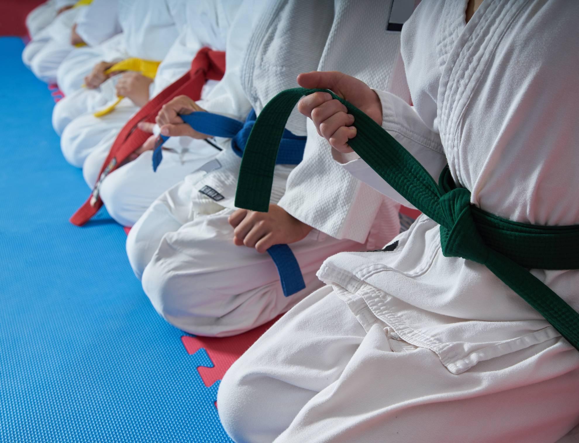 tenue judo judogi